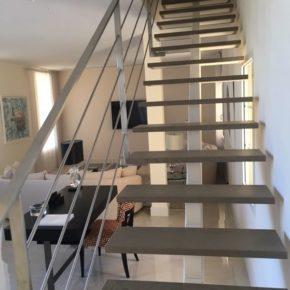 Escaliers bois alu